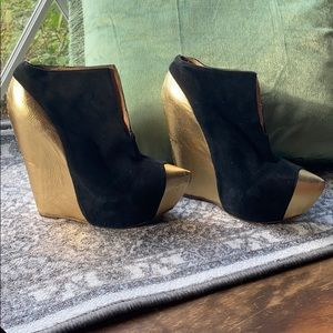 Jeffrey Campbell club costume witch edgy wedges